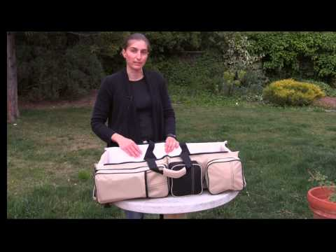 Magical Baby Bag Review of Multifuntional Baby Cot, Bassinet and Diaper Bag