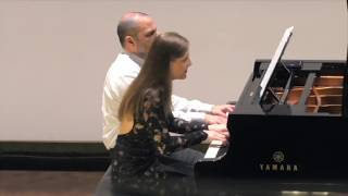 Rachmaninov:Six Morceaux op.11- Valse/ Sara Costa & Fabiano Casanova Piano Duo