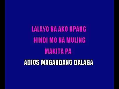 Adapt  L  Celerio   Adios Mariquita Linda Filipino Karaoke