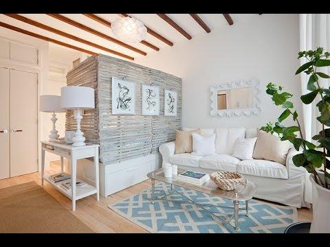 Гостиная и спальня в одной комнате. Зонирование помещения