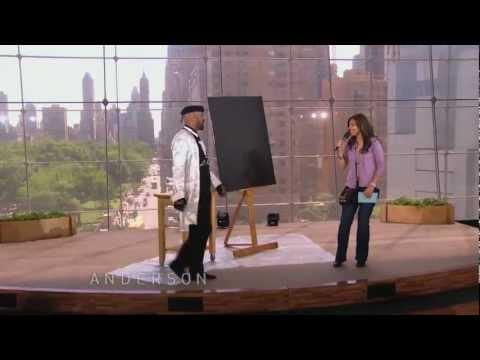 Pintor surpreende em apresentação Inteligente.