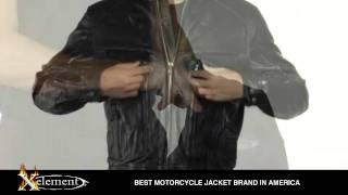 Xelement Men S Retro Brown Bandit Motorcycle Jacket At Leatherup Com