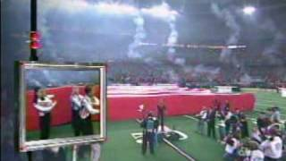 Faith Hill National Anthem Superbowl XXXIV (FULL VERSION)