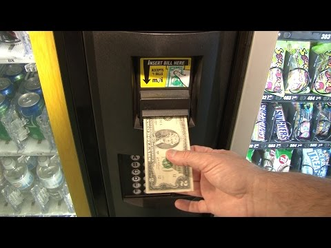 Do $2 bills work in vending machines? clip from The Two Dollar Bill Documentary