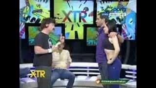 """Cookie Gym y Calu modelo de Mario Marinho en """"Tiempo extra"""" TYC SPORTS"""
