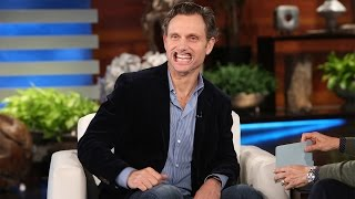 Tony Goldwyn Plays 'Speak Out'!