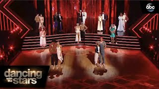 Villains Night Elimination - Dancing with the Stars