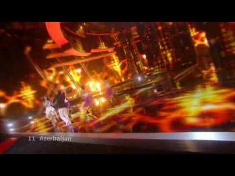 Eurovision 2009 Final - Azerbaijan - AySel & Arash - Always