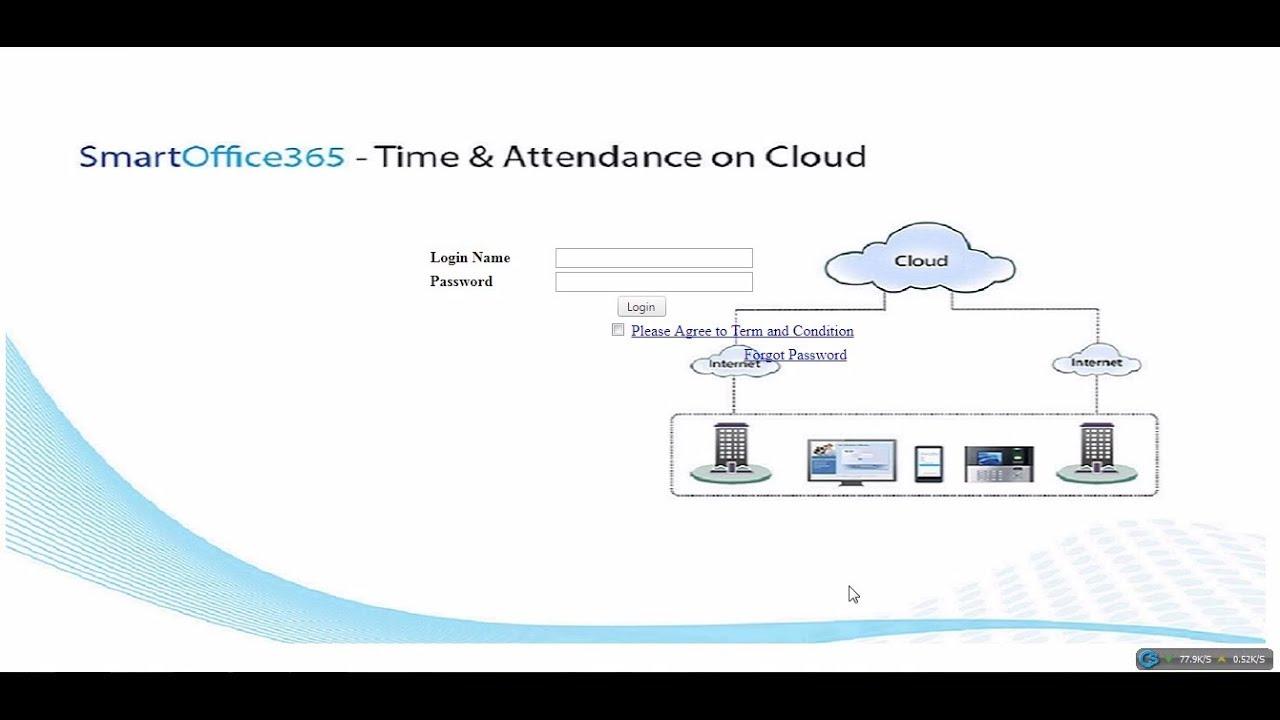 SmartOffice365 Cloud Online Device Configuration | eSSL | 2018