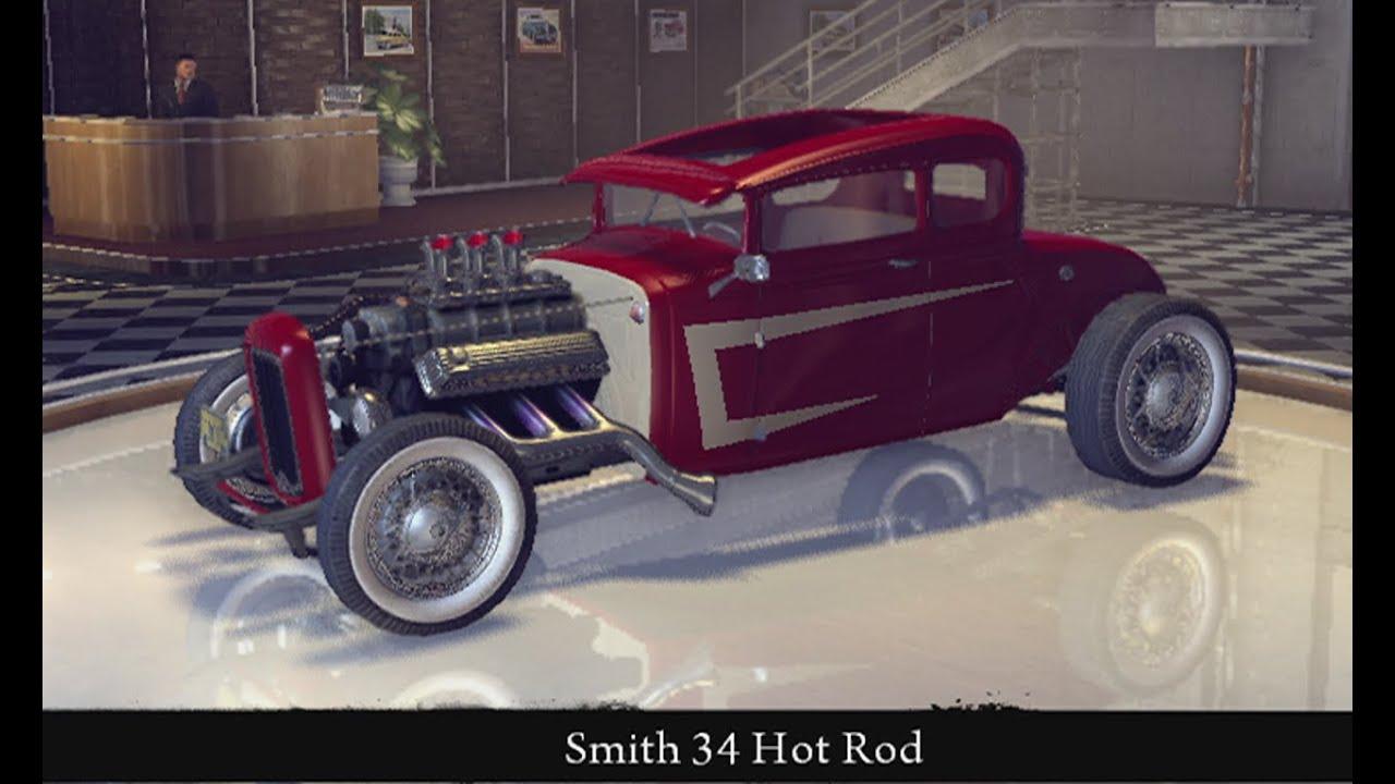 Mafia II -Smith 34 Hot Rod(top speed 192 kph ) By abood dk - YouTube