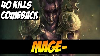 COMEBACK WITH ANTI-MAGE AND 40 KILLS - MagE- - Patch 7.00 - Dota 2