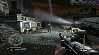 Medal of Honor Airborne (GeForce 210 + E6550) PC Gameplay HD