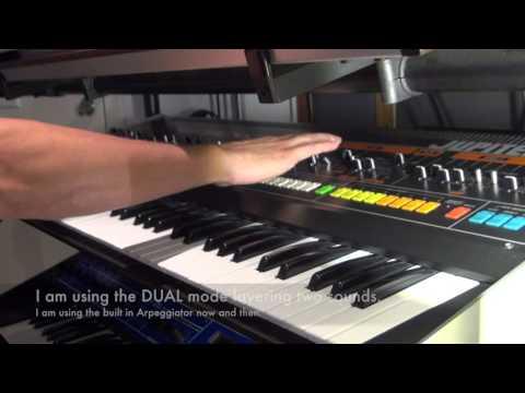 Roland JP-08 vs Roland Jupiter-8  Part 1 (JP8)