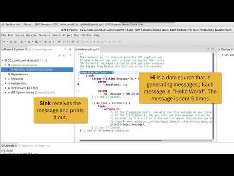 Getting started with IBM Streams v4 3 with Quick Start Edition