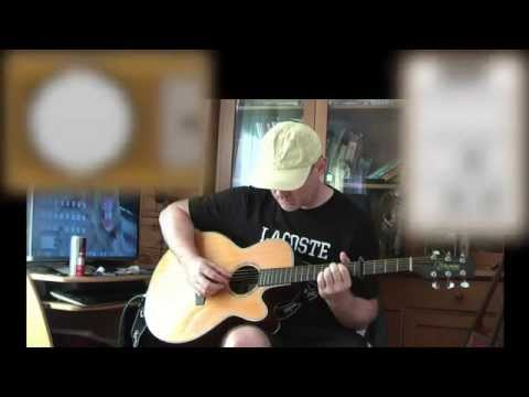 Sailing Rod Stewart Acoustic Guitar Lesson Easy Youtube