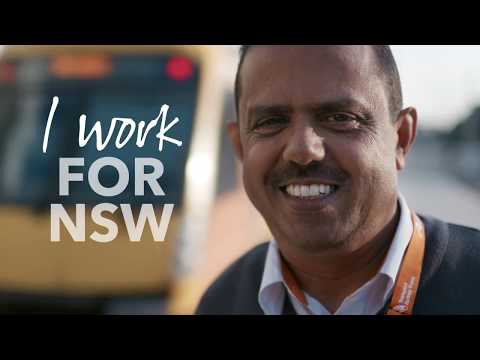 I Work For NSW - Andrew, Sydney Trains