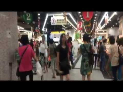 Lok Fu Market presentation material