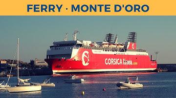 Passage on ferry MONTE D'ORO, Marseille - L'Île-Rousse (Corsica Linea)