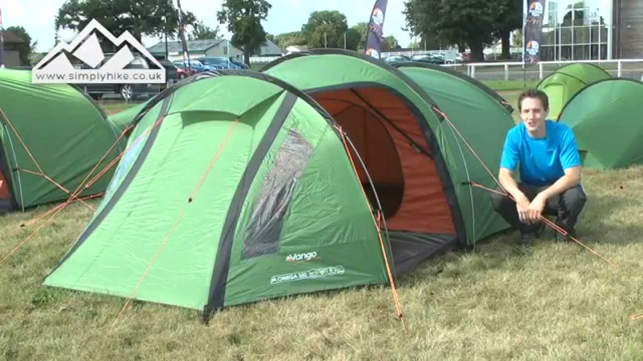 sc 1 st  YouTube & Vango Omega 350 Tent - www.simplyhike.co.uk - YouTube