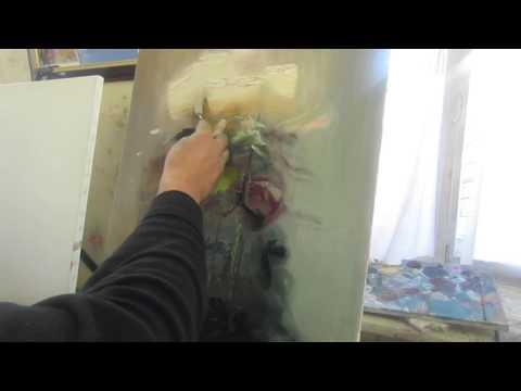 Букет роз, цветы маслом, живопись для новичков, художник Игорь Сахаров
