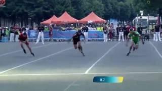 2016 World Roller Speed Skating Championships 100m Rails Final