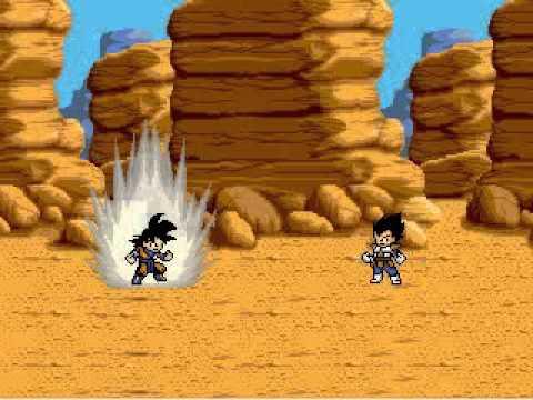 Dragon Ball : Ultimate ShowDown - Goku vs Vegeta - Free PC