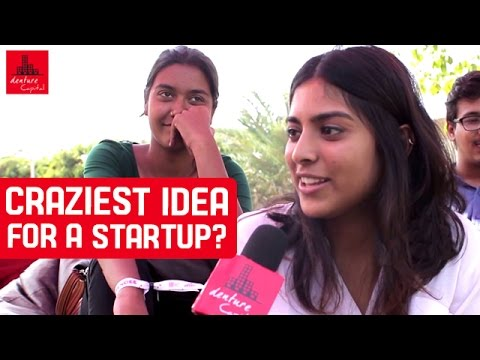 Crazy Ideas For A Startup? | Under 25 Summit Public Interview | Denture Capital