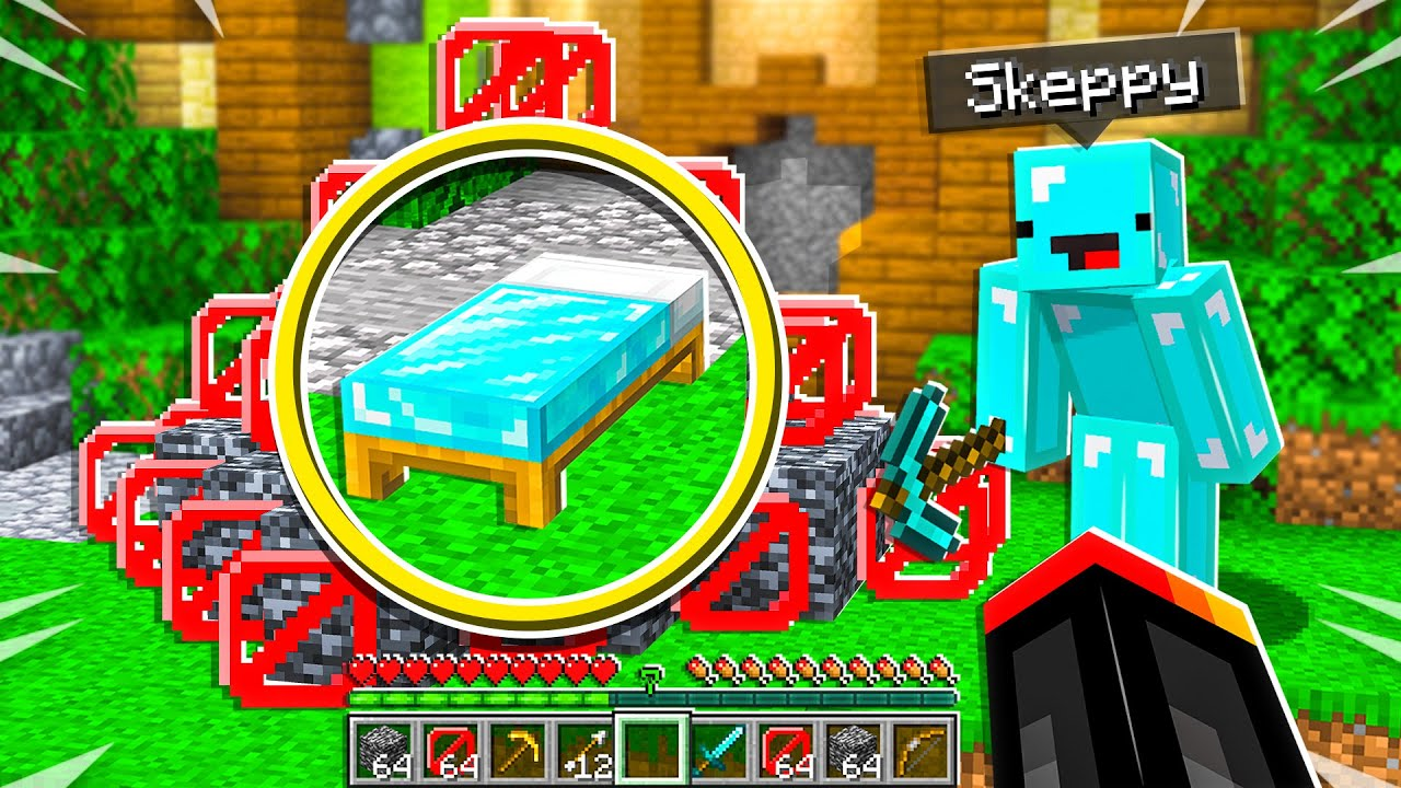 Skeppy TROLLED Me in 1v1 Bed Wars! - Minecraft