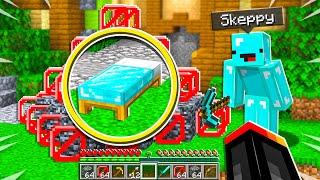 Skeppy TROLLED Me in 1v1 Bed Wars! - Minecraft