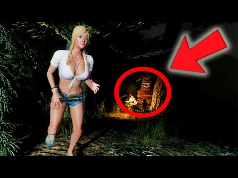 ESCAPE THE NIGHTMARE ANIMATRONICS IN THE SCARY FOREST! (GTA 5 Mods For Kids FNAF Funny Moments)