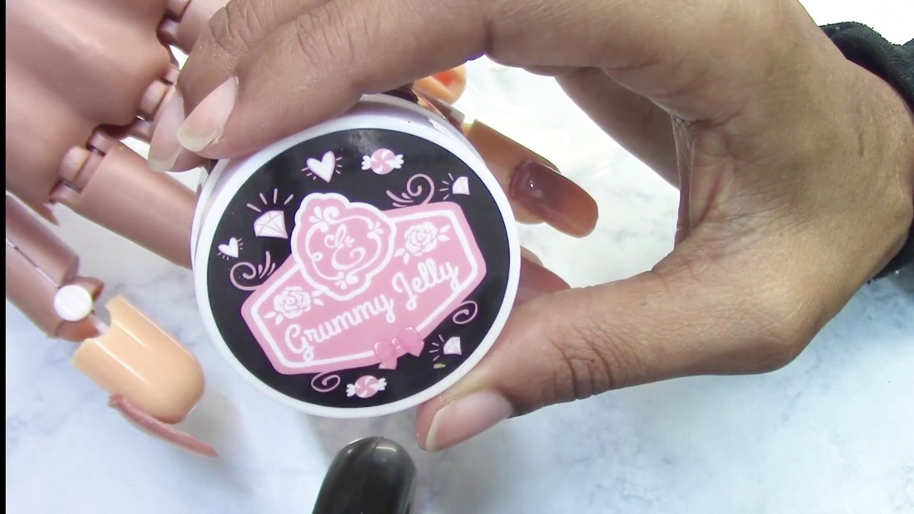 Exclusive Nail Couture Grummy Jelly Review & Comparison - YouTube