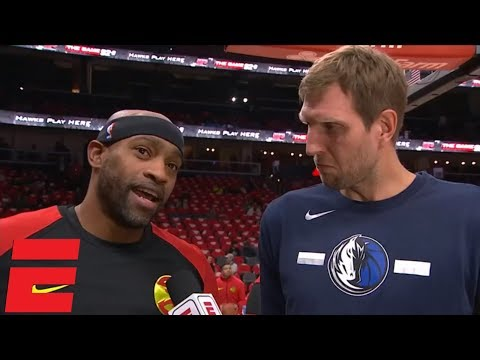 Vince Carter and Dirk Nowitzki explain why they keep playing past 40 | NBA Interview