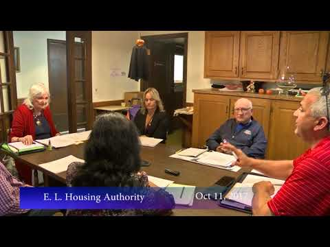 E.L.Housing Authority, October 11, 2017