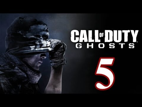 Call of Duty: Ghosts Walkthrough PART 5 [PS3] TRUE-HD QUALITY