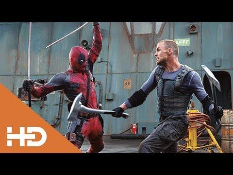 ДЭДПУЛ Vs АЯКС. Финальный Бой.Дэдпул (2016) Лучшие Моменты. Deadpool