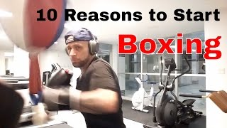 Top 10 Reasons to Start Boxing