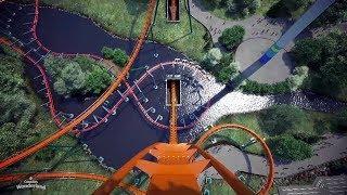 Dive roller-coaster called highest, fastest, longest