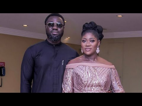 Pregnant Mercy Johnson glows at The Legend of Inikpi movie premiere