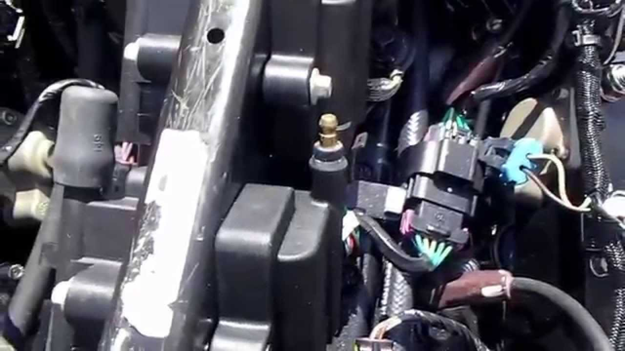 how to diagnose injector or coil fault on a mercury optimax 150 hp outboard engine [ 1280 x 720 Pixel ]