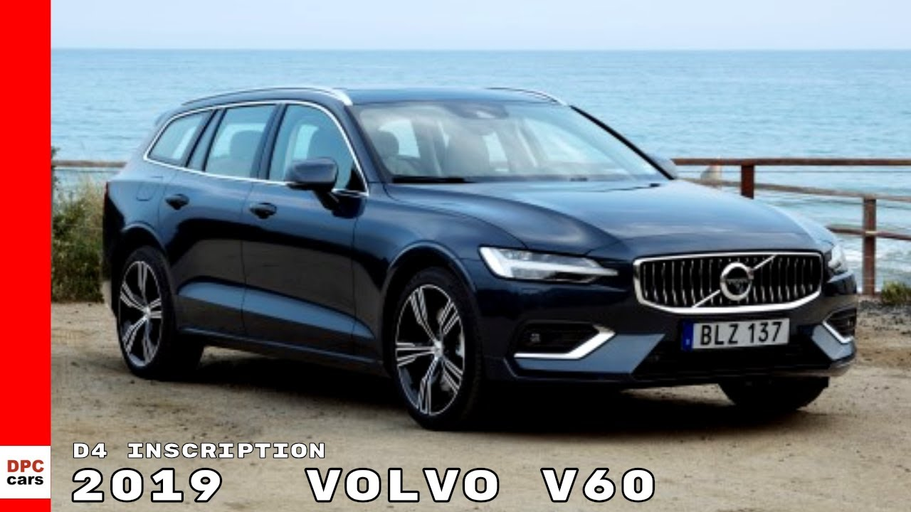 2018 Volvo Xc90 >> 2019 Volvo V60 D4 Inscription Denim Blue - YouTube