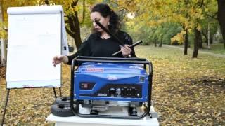 видео Генераторы 3 кВт (бензиновые, дизельные) для дома и дачи купить в Москве, цена