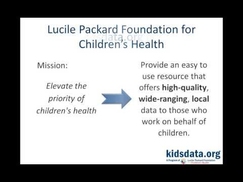 Webinar - The New Kidsdata.org: Putting Data to Work for California Children