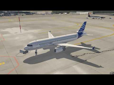 Подготовка кабины самолета A320 (Preliminary Cokpit Preparation A320)