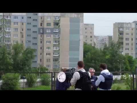 02.06.14 Луганск. Бой.