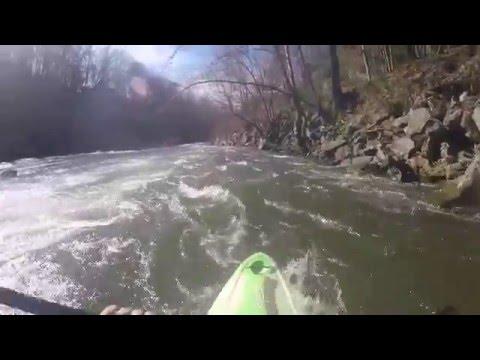 Kayaking on the Tuckasegee River near Dillsboro and Sylva, NC
