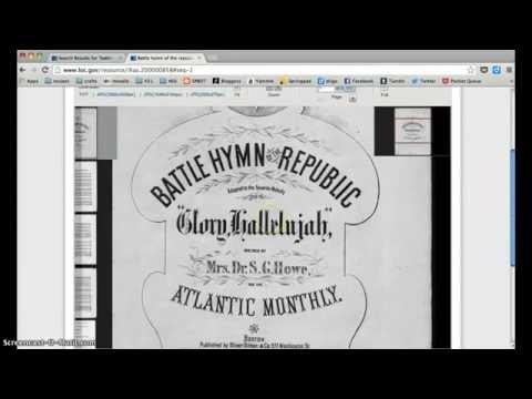 Searching for Civil War sheet music