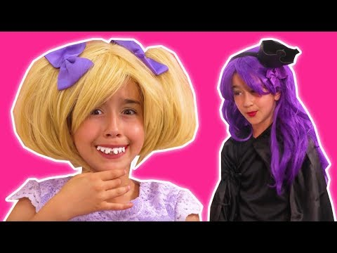 MALICE'S MAGIC GUMMY PRANK 😬 Esme's Teeth Are Transformed! - Princesses In Real Life | Kiddyzuzaa