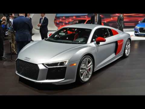 HOT NEW !!! 2017 Audi Sport Edition Audi R8