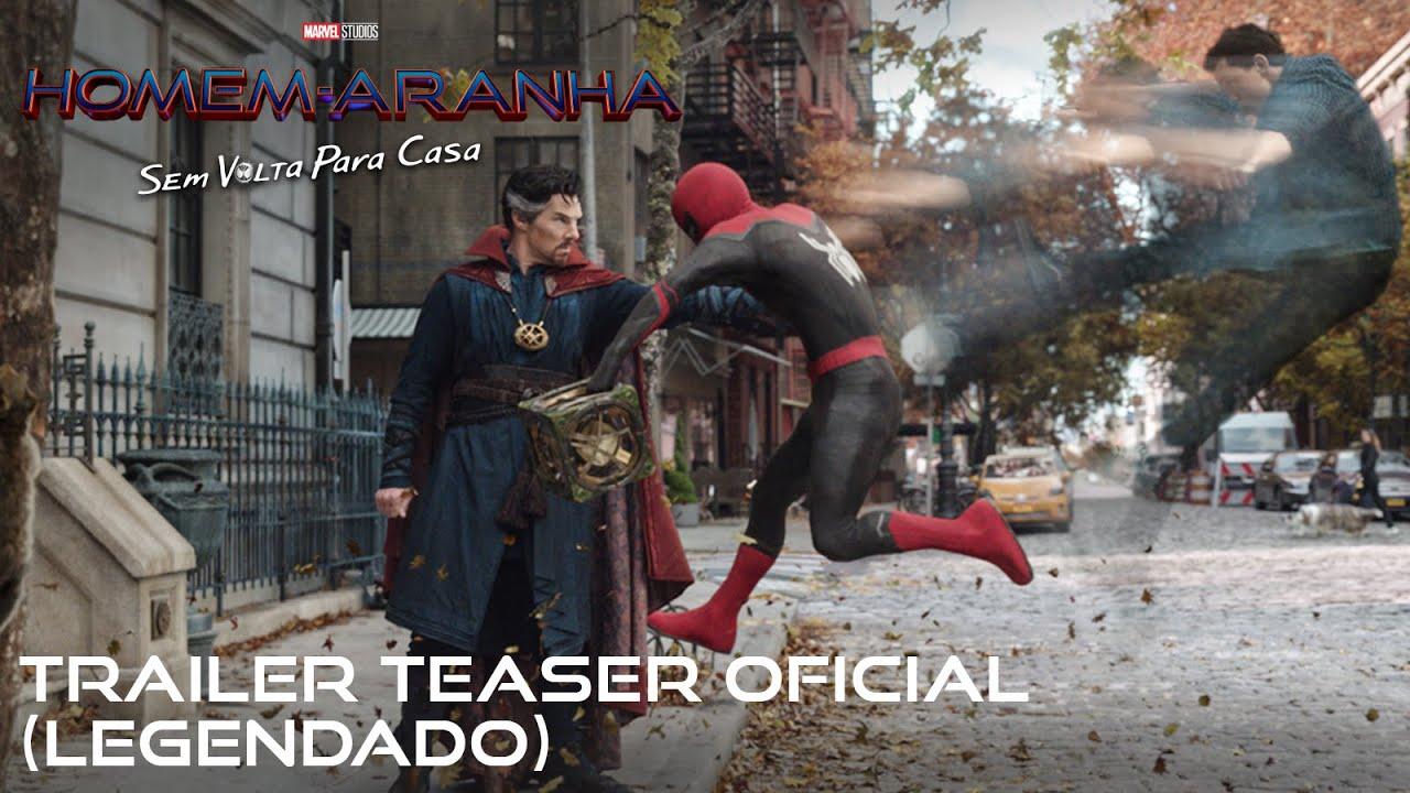 Homem-Aranha: Sem Volta Para Casa   Trailer teaser oficial legendado   16 de dezembro nos cinemas.