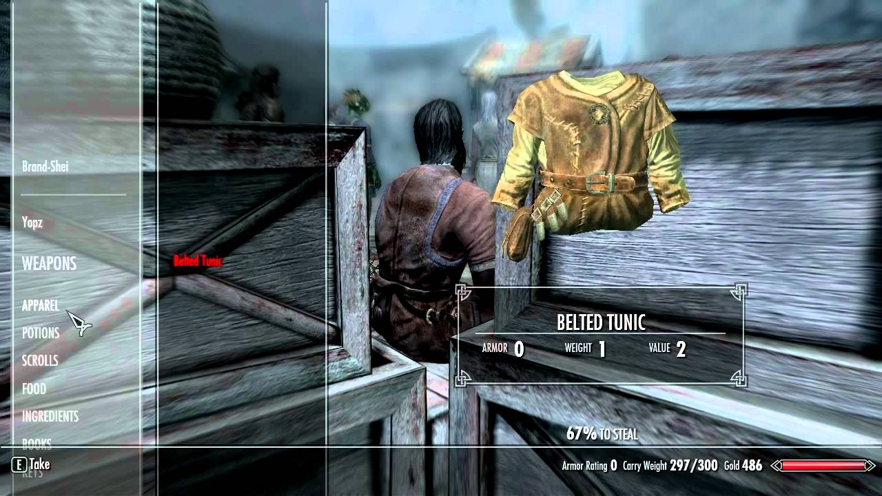 Skyrim: How to Steal Madesi's Ring